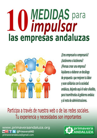 Primavera Andaluza abre un proceso participartivo en busca de ideas empresariales ecológicas y con t