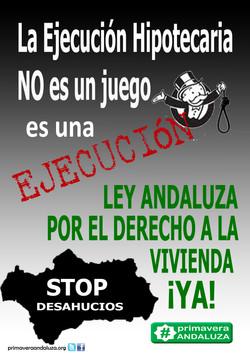 LEY ANDALUZA contra los DESAHUCIOS