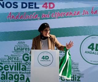 """""""Hace 40 años, Andalucía se reivindicó a sí misma para que nadie desde Madrid nos dijera qué y"""