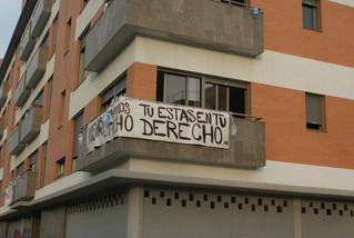 Primavera Andaluza condena el infame desalojo de la Corrala Utopía.