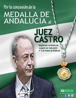 medalla andalucia juez castro change