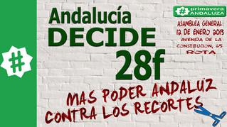 Primavera Andaluza quiere que el 28 de Febrero sea el día de la unidad de la izquierda para empodera