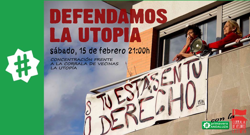 defensa de la Corrala la Utopia