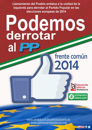 """Primavera Andaluza afirma que la unidad de la izquierda es """"el mejor escrache que se le puede hacer"""