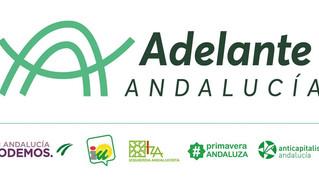 COMUNICADO CONJUNTO DE IZQUIERDA ANDALUCISTA Y PRIMAVERA ANDALUZA SOBRE ADELANTE ANDALUCÍA