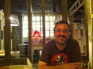 David Soto Fernández. Candidato de Adelante Andalucía por Sevilla