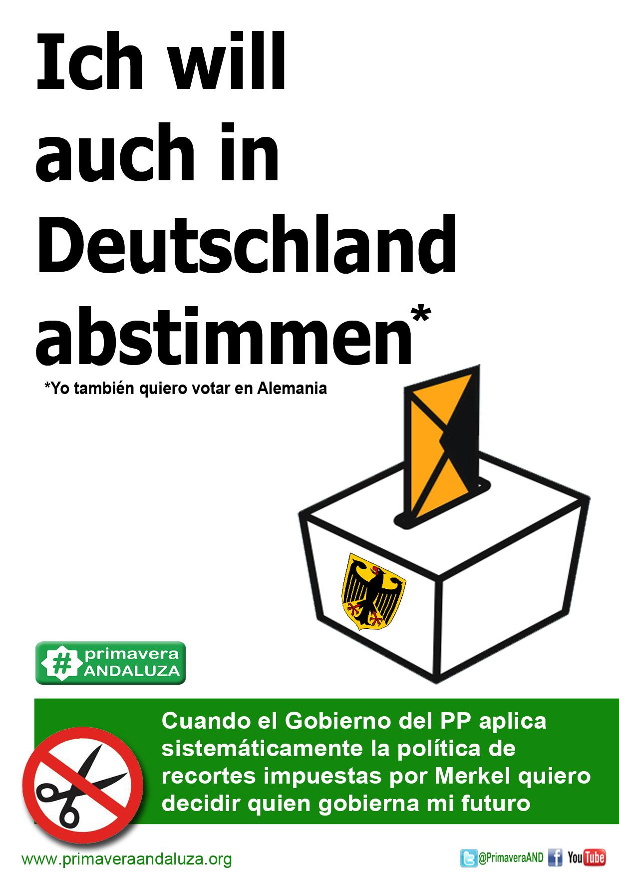 votar en alemania