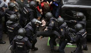 Comunicado de Primavera Andaluza ante las agresiones en Catalunya el 1-Oct