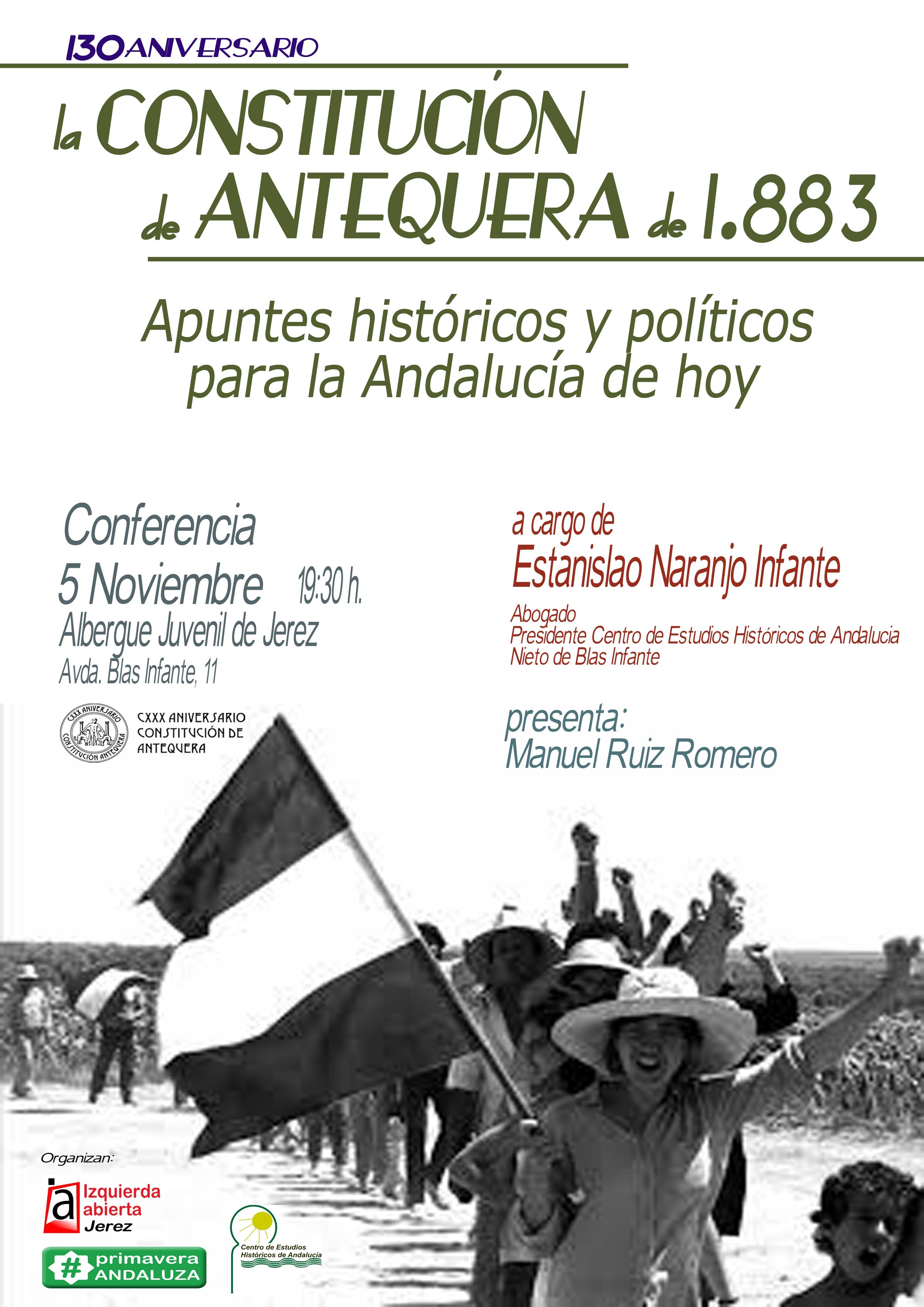 CARTEL JEREZ Constitucion Antequera