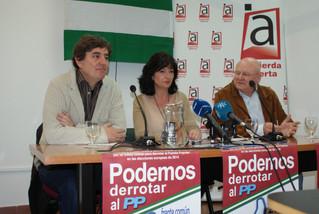 """Piden la unidad de la izquierda andaluza """"para derrotar al PP"""" en las Elecciones Europeas de 2014"""