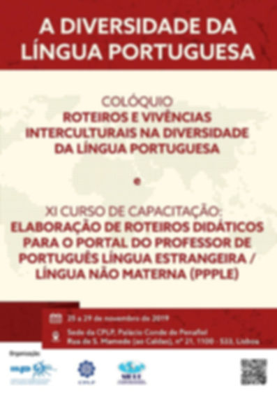 cartaz a diversidd da língua portuguesa