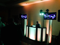 Light Up Towers with L.E.D Monitors