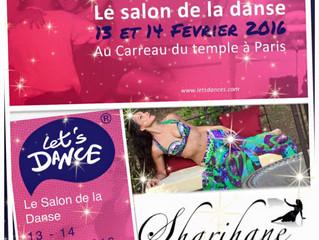 Sharihane au Salon de La Danse Lets Dance