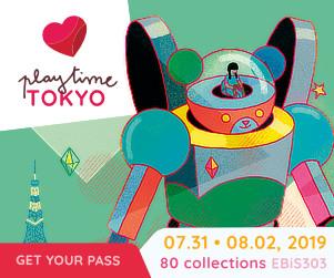 play time TOKYOに出展いたします!