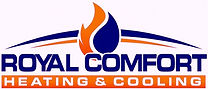 logo link to royal comfort heating and cooling