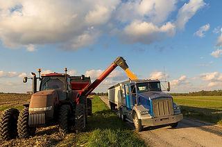Tractors Working in Field
