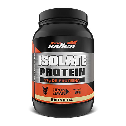 Isolate Protein Série Iron Man da New Millen Baunilha