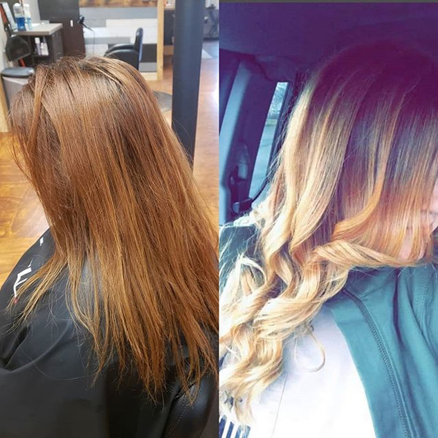 A beautiful #beforeandafter for this gor