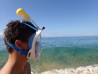 Full Face Snorkel Mask Rentals Maui