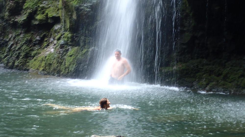 3 sisters waterfall maui