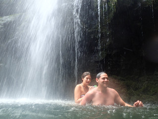 Maui Waterfall Swimming - Road to Hana