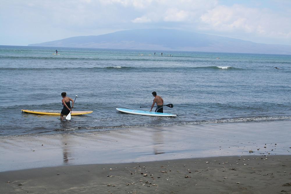 Laniopoko Beach Surfing, Where to surf in lahaina?