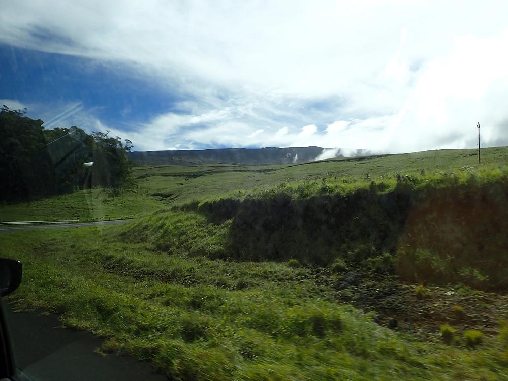 Drive up to Haleakala