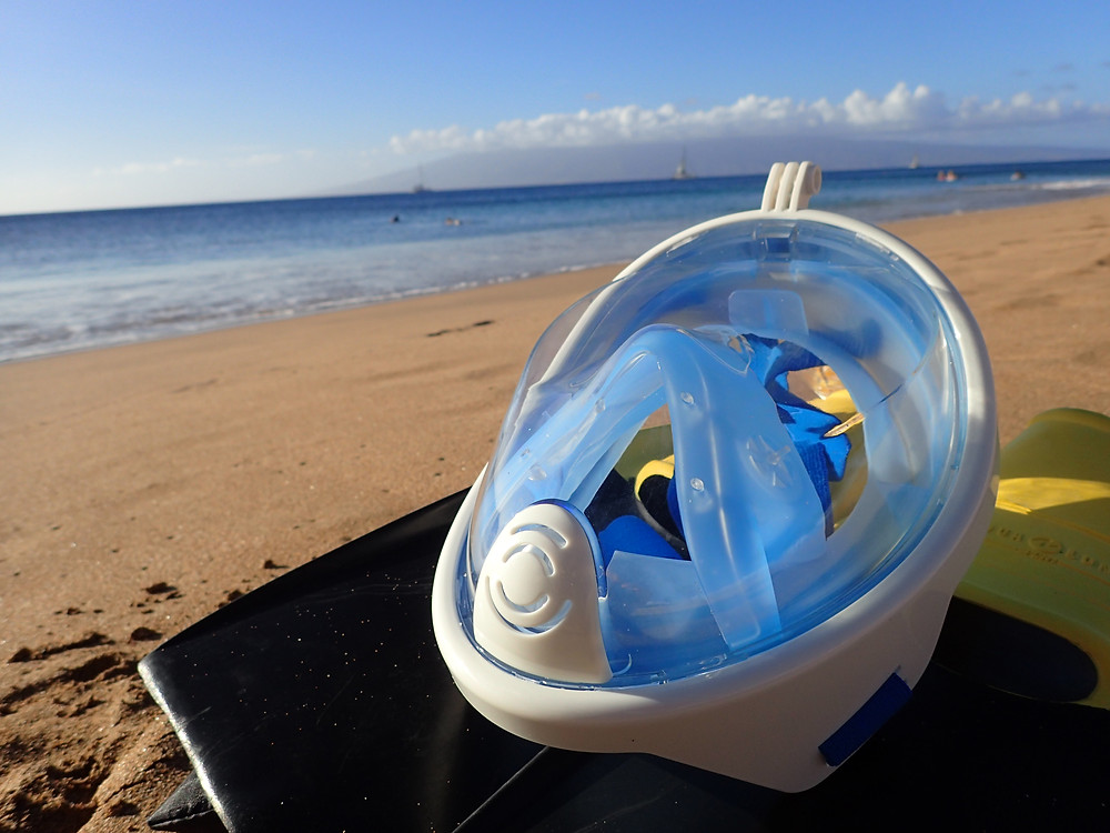 One way valves Makai Snorkel, Easy Breath