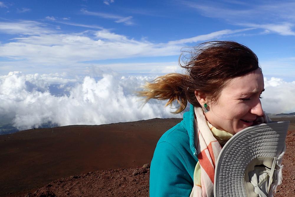 Haleakala Gets cold!