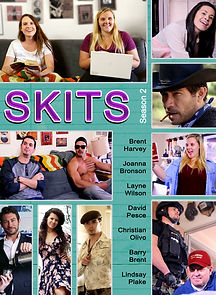 'Skits' sketch comedy web series poster, Struggleing Web Series Poster,Youtube Channel, Comedy, a draindie short film, created by actor-filmmakers, brent harvey, joanna bronson, christian olivo, d los angeles california, film production, entertainment, david pesce, layne ashley wilson, barry brent, lindsay plake,