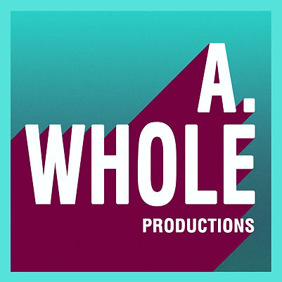 A. Whole Productions , Film Production Company Logo, Illustration Logo, Simple modern design logo