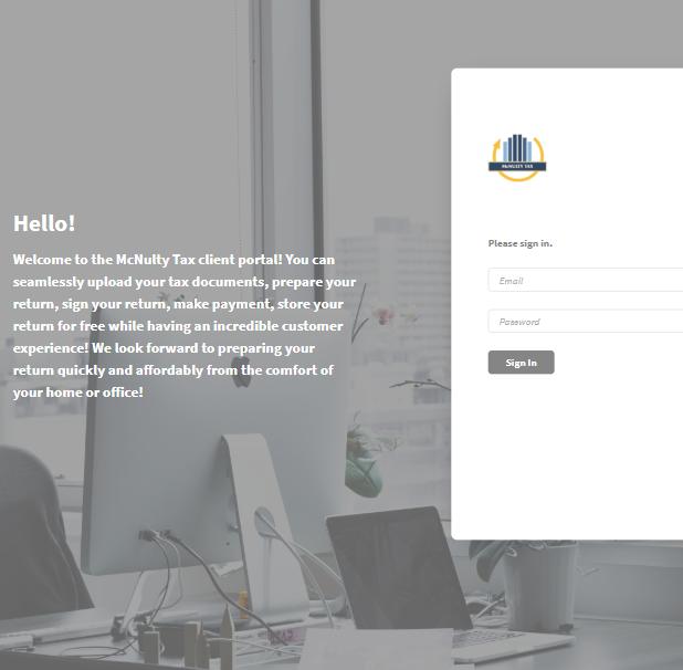 McNulty Tax Client Portal