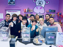 One Direction at Milkshake City