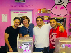 Harry Styles at Milkshake City