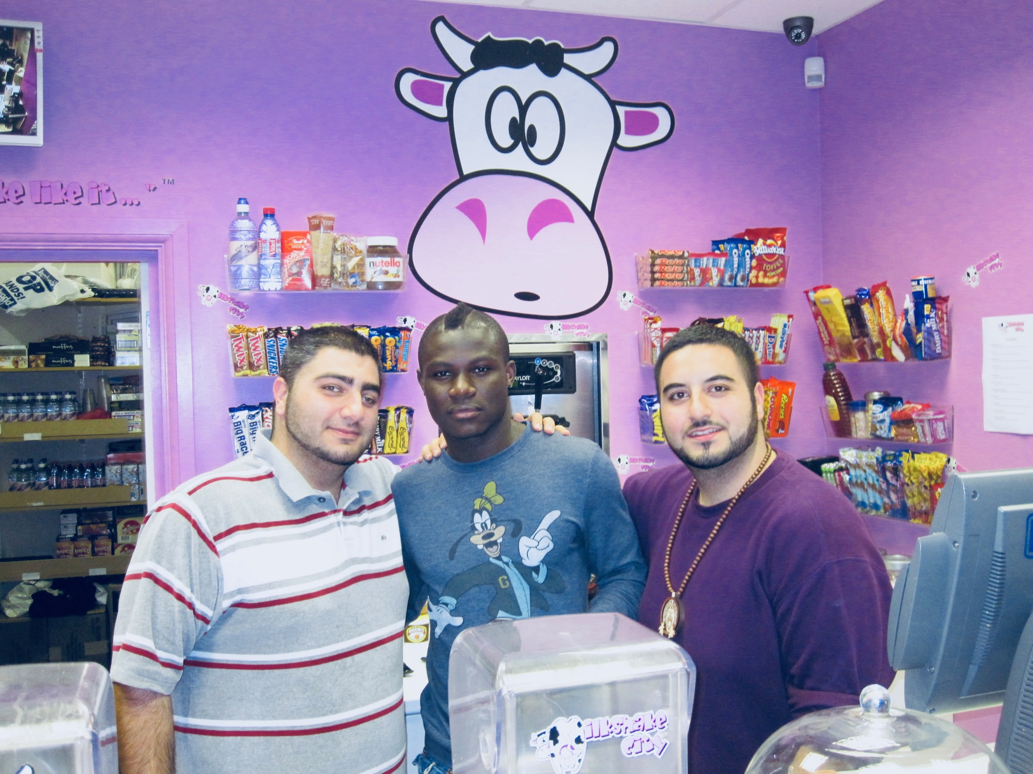 Emmanuel Frimpong at Milkshake City