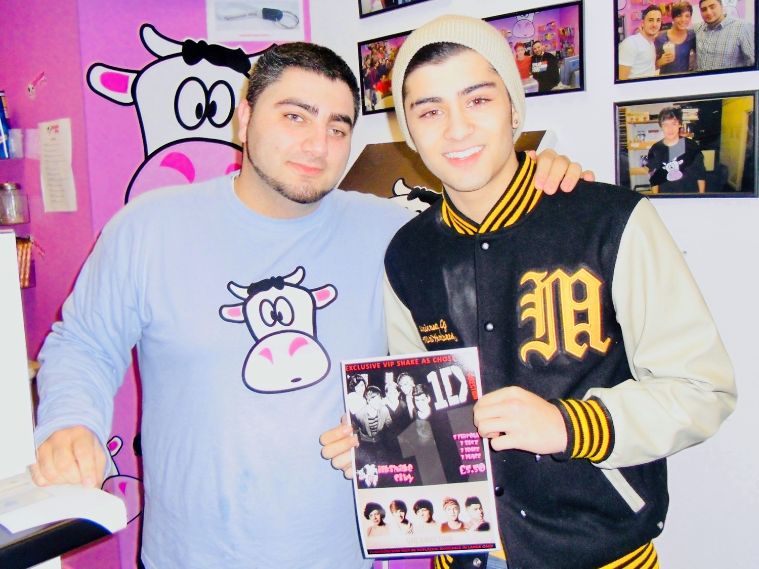 Zayn Malik at Milkshake City