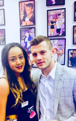Jack Wilshere at Milkshake City