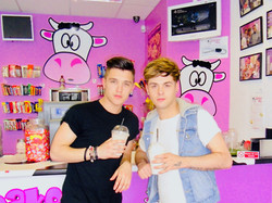 JJ & Jaymi, Union J at MilkshakeCity