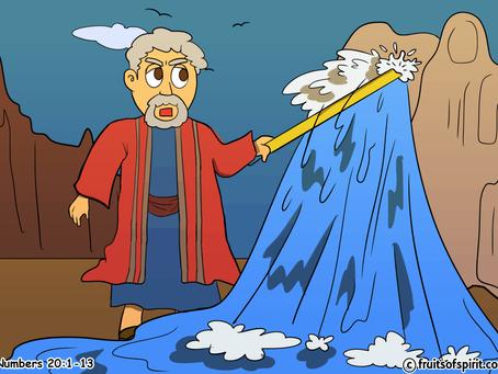 Waters of Meribah Coloring Page
