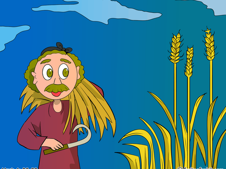 Parable of the Growing Seed Coloring Page