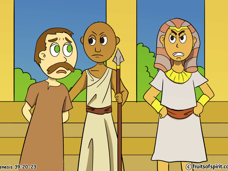 Joseph In Prison Coloring Pages