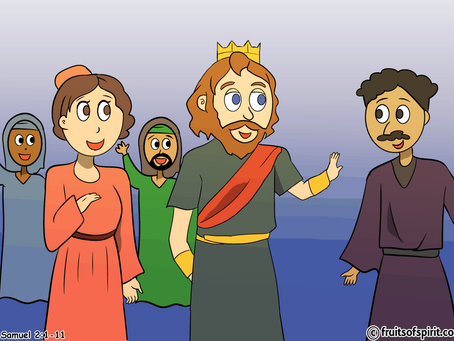 David Anointed King Of Judah Coloring Page