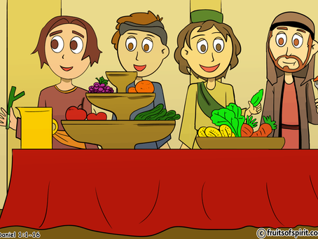 Daniel And The King's Food Coloring Pages