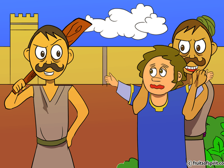 Parable of the Tenants Coloring Page