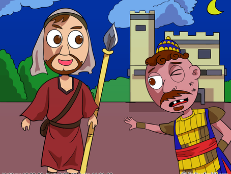 Parable Of The Strong Man Coloring Page