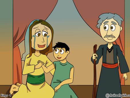 Elisha and the Shunammite Woman Coloring Pages
