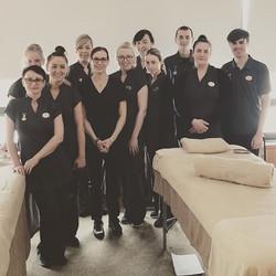 Jessica overseas training massage therapists