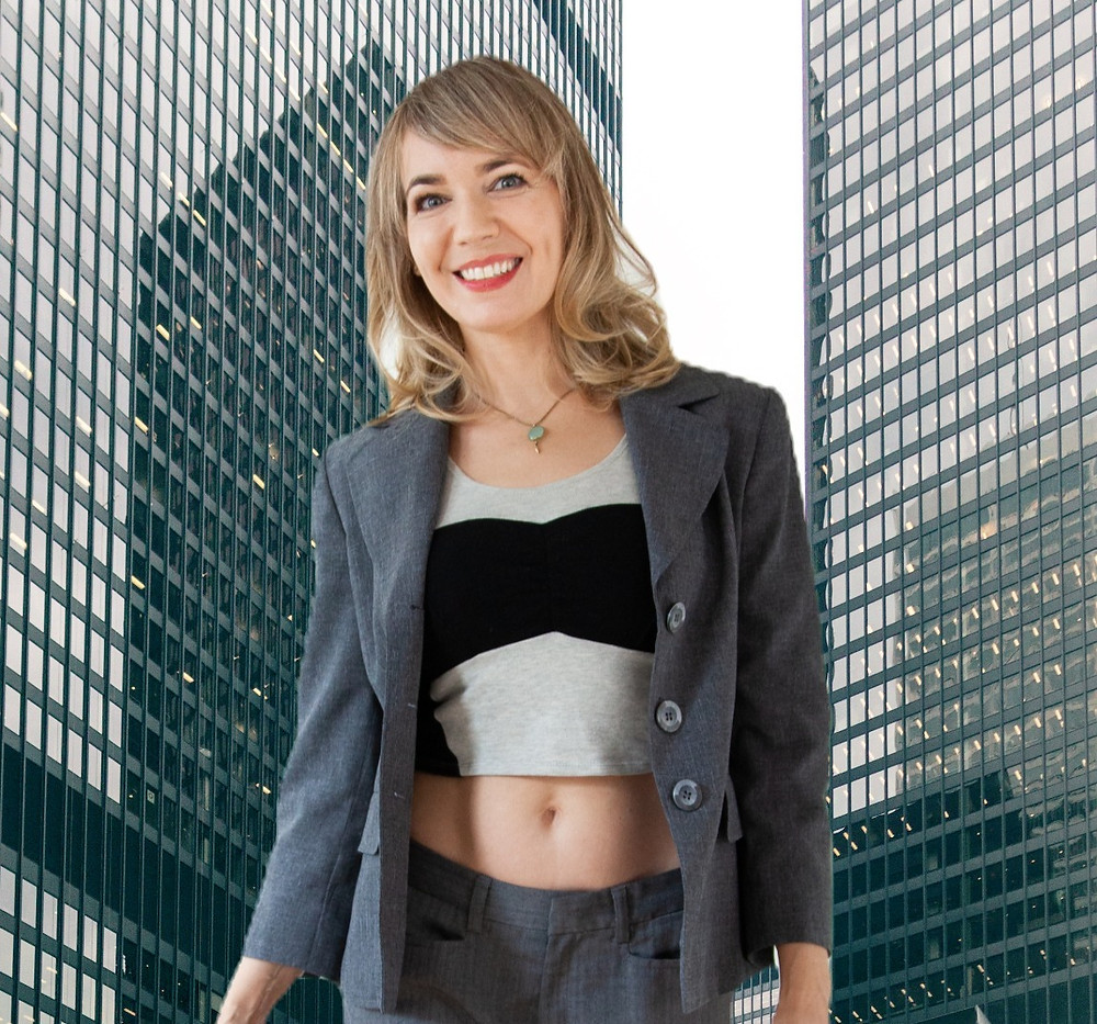 Wellbeing for offices, office yoga, jessica crow of CNTRD Wellness, WFH Wellness Programs