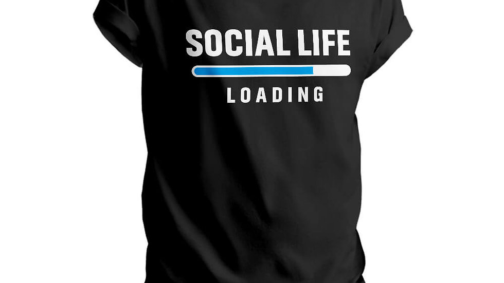 Social Life Loading Printed T-shirts in Mulund