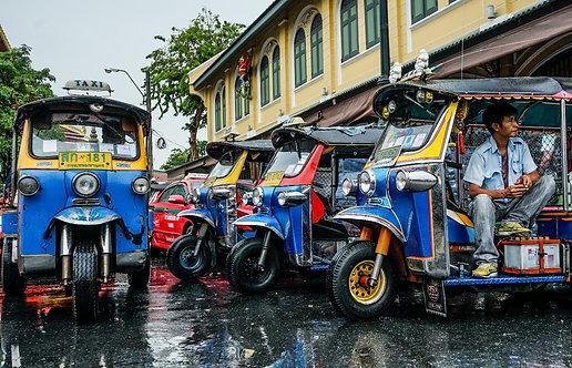 Thailand Tuk Tuks